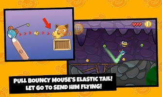 Screenshot of Bouncy Mouse Free