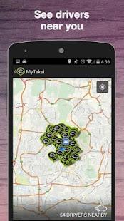MyTeksi (GrabTaxi) Book A Taxi - screenshot thumbnail