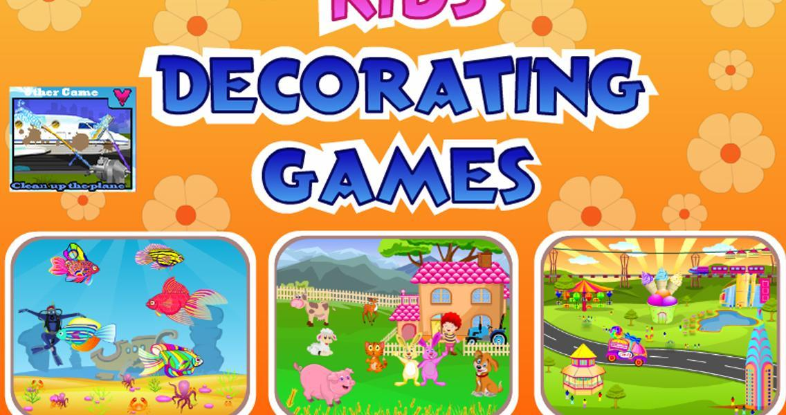 kids decorating games screenshot - Decoration Games