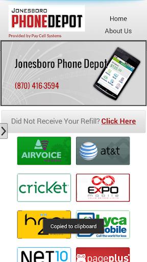 Phone Depot Wireless Bill Pay