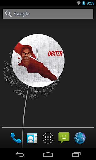 Dexter Clock Widget