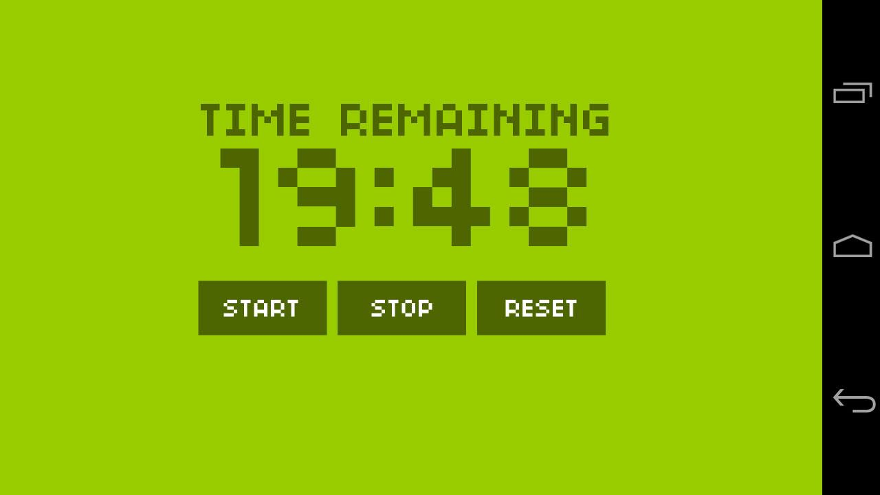 Bike Interval Clock - screenshot