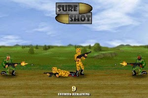 Screenshot of Sure Shot