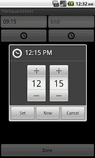 Timesheet - TheSquareSheet - screenshot thumbnail