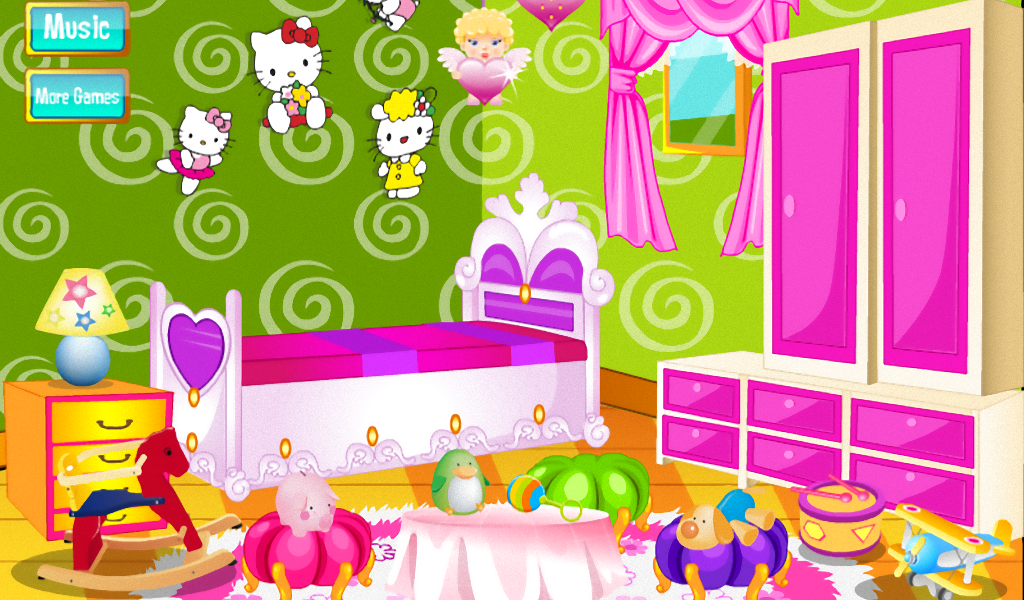 Baby room decorating games online Room makeover app
