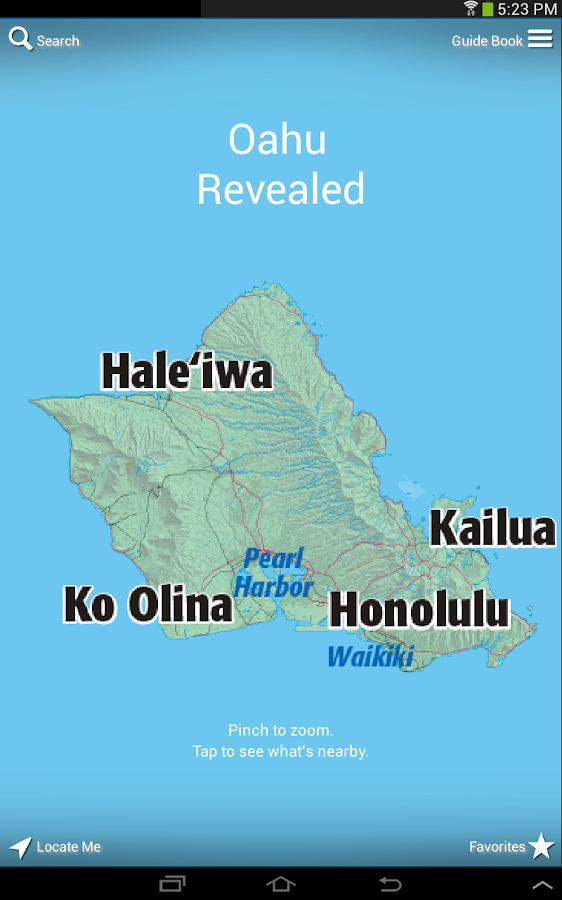Oahu Revealed 5th Edition- screenshot