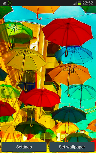 Color Umbrellas HD Wallpapers