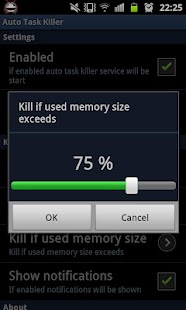 Auto Task Killer - screenshot thumbnail