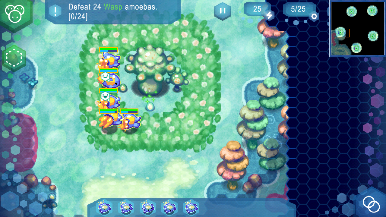 Amoebattle- screenshot