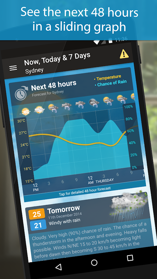 Weatherzone Plus - screenshot