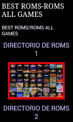 Roms Games