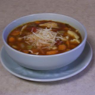Crock-Pot Easy Minestrone.