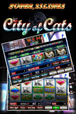 SUPER 25LINES CITY OF CATS