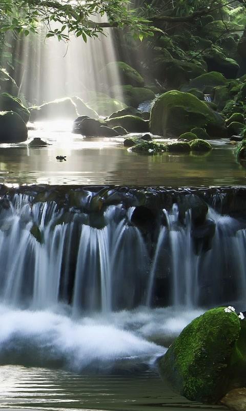Magic Waterfall wallpaper Screenshot