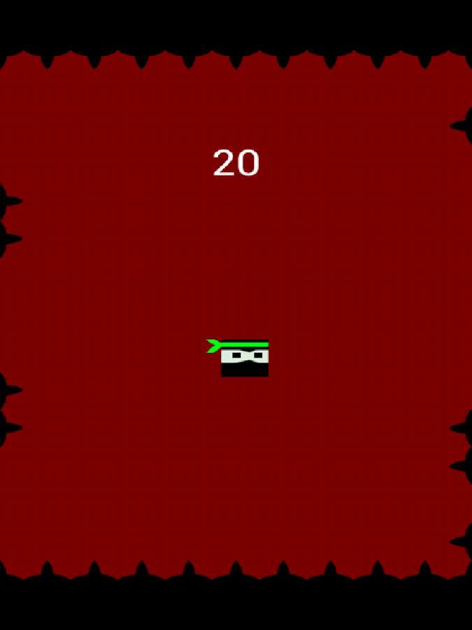 Bouncy Ninja+- screenshot