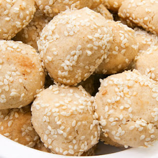 Sesame-Tahini Cookies.