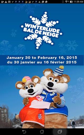 Winterlude - Bal de Neige