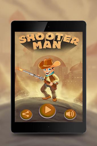 zombie shooter man
