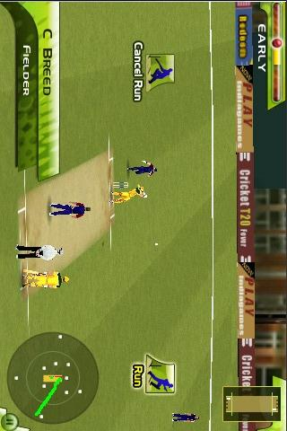 Cricket T20 Fever 3D - screenshot