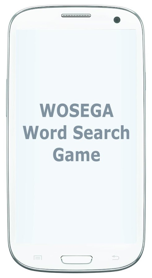 WOSEGA - Word Search Game- screenshot