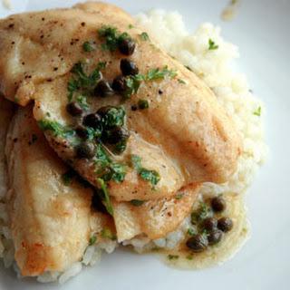 Fish Piccata.