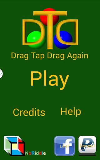 Drag Tap Drag Again
