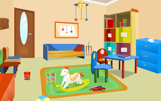 Screenshot of Escape Game - Day Care Room