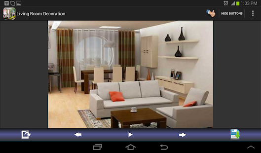 Living Room Decoration Designs Screenshot Thumbnail