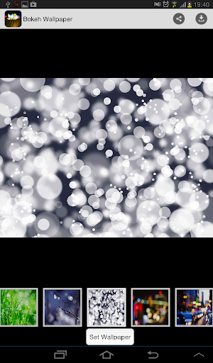 Cool Bokeh Wallpaper