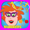 Numbers & counting with Tilly icon