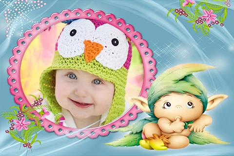 Cutie Baby Photo Frames