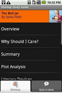 The Bell Jar: Shmoop Guide - screenshot thumbnail