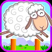 Lazy Sheep Mad Jump Palace