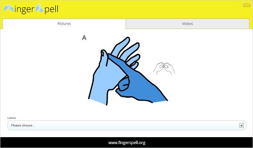 【免費教育App】FingerSpell-APP點子