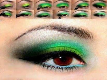 化妆你的眼睛逐步