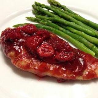 Gourmet Raspberry Chicken.
