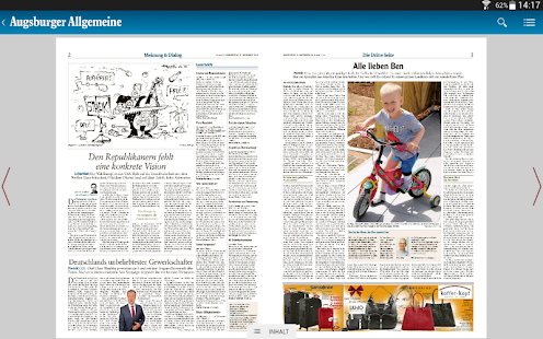 Augsburger Allgemeine - screenshot thumbnail