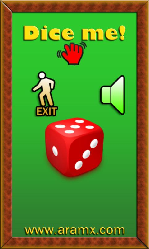 Dice Me- screenshot