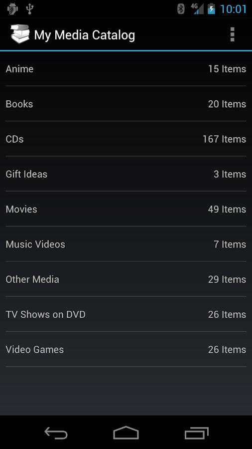 My Media Catalog- screenshot