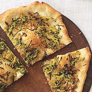 Zucchini-Onion Pizza Recipe