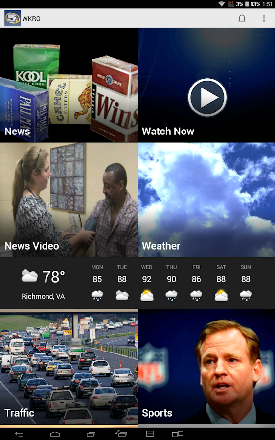 WKRG - Mobile Pensacola - screenshot