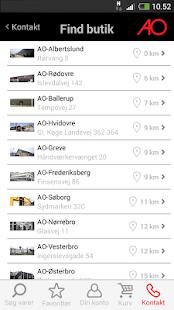 AO.dk Mobil - náhled