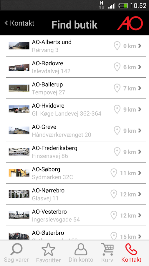 AO.dk Mobil - screenshot