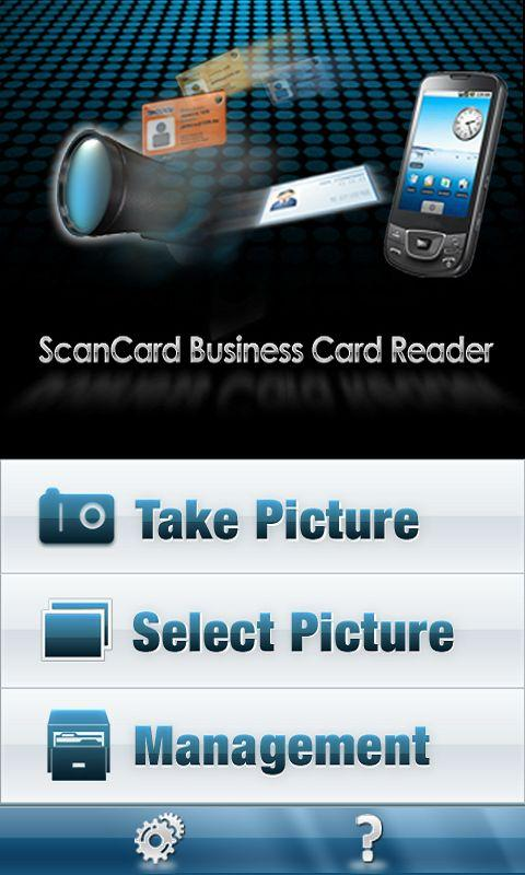 ScanCard BCR US/EU Lite - screenshot