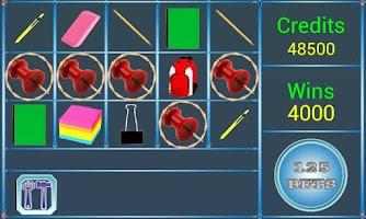 Screenshot of A8 Back 2 School Slot Machine