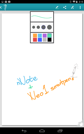 nNote - enabled by neo.1 pen