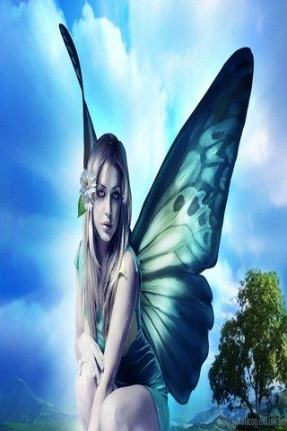 Fairy wallpaper HD - screenshot