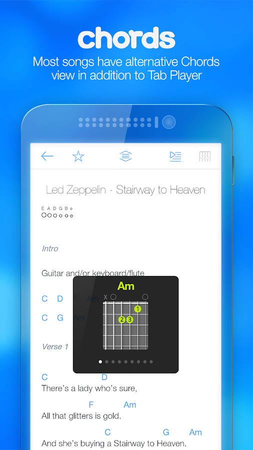 Songsterr Guitar Tabs & Chords- screenshot