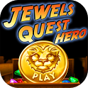Jewels Quest Hero - Gem Match icon