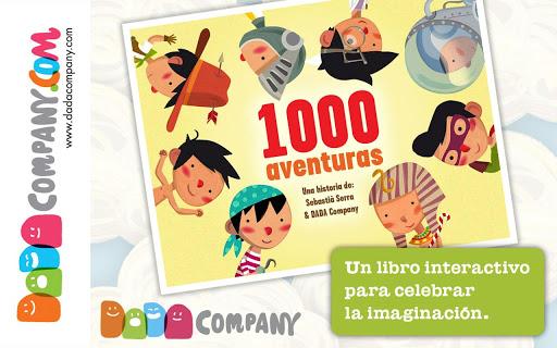1000 Aventuras: Libro infantil